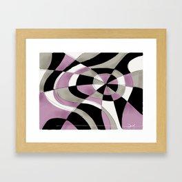 Purpe Haze Framed Art Print