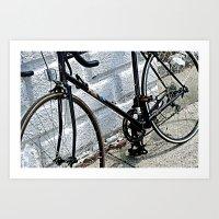 yowamushi pedal Art Prints featuring Urban Pedal by Art By Amarose