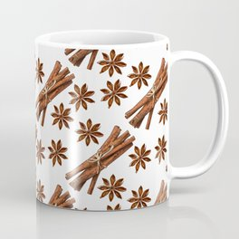 Cinnamon sticks and star anise. Coffee Mug