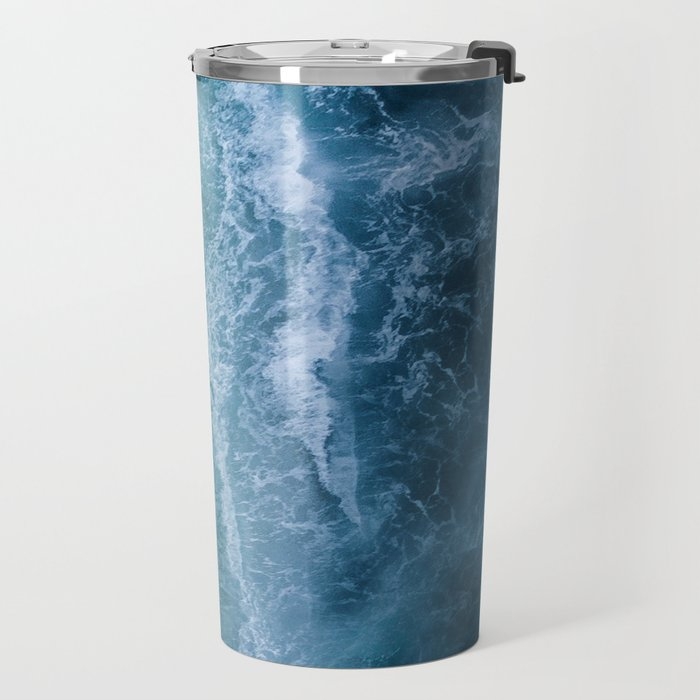 Turquoise Sea Travel Mug