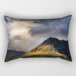 In High Places Rectangular Pillow