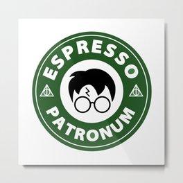 Espresso Patronum starbucks Metal Print