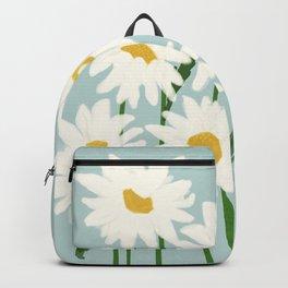 Flower Market - Oxeye daisies Backpack