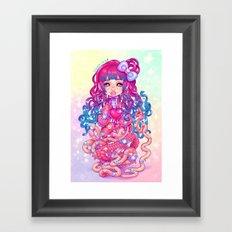 Cute Penanggalan Framed Art Print