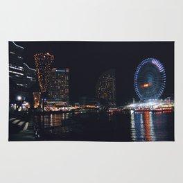 Yokohama Night Life Rug