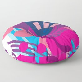 Blue Berry Smoothie Floor Pillow