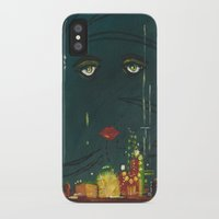 great gatsby iPhone & iPod Cases featuring Gatsby by Julia Lopez
