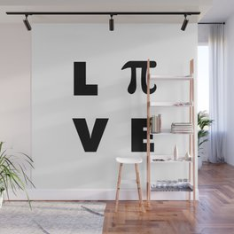 Love Pi Wall Mural