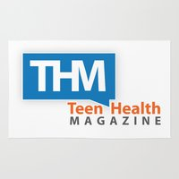 health Area & Throw Rugs featuring Teen Health Magazine by TeenHealthMagazine