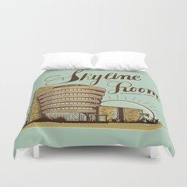 Skyline Room Duvet Cover