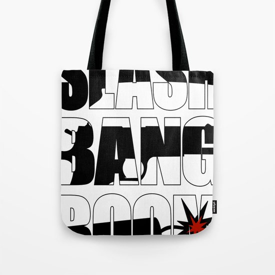 SLASH BANG BOOM! Tote Bag