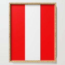 flag of austria 4 -,Österreich,Austrian,Österreicher,Vienna,Salzburg,Mozart, Schoenberg Serving Tray