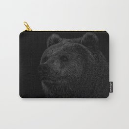 Grizzly Line art Carry-All Pouch