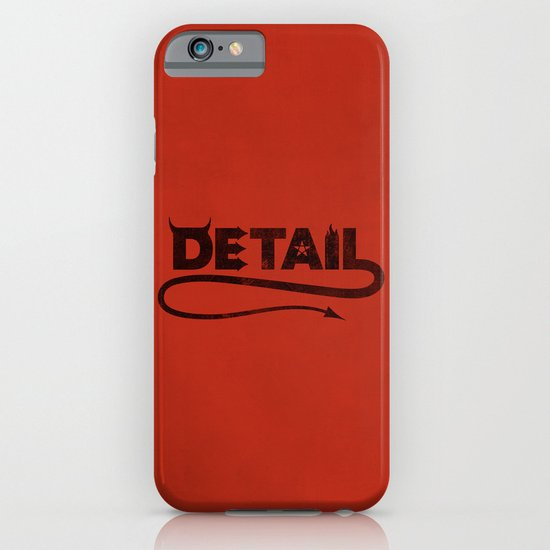 The Devil's in the Detail iPhone & iPod Case