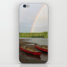 Double Rainbow iPhone Skin