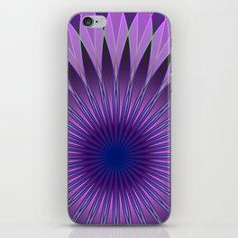 Lavender mandala iPhone Skin