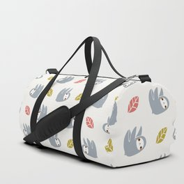sloth pattern Duffle Bag