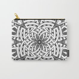 Aztec Mandala Carry-All Pouch