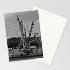 Old Shrimp Boats Stationery Cards