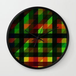 Mage Sync Reflection Crypp Wall Clock