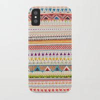 shapes iPhone & iPod Cases featuring Pattern by Sandra Dieckmann