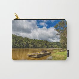 Pontoon on the Barron River Carry-All Pouch