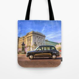 Taxi Buckingham Palace Tote Bag