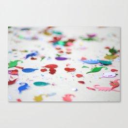 Confetti Sprinkle Canvas Print