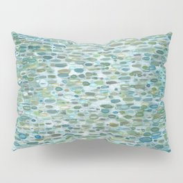 Blue Raindrops Juul art Pillow Sham