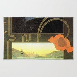 Vintage poster - Lago di Como Rug