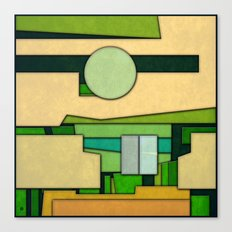 Abstract Cubist 3 Canvas Print