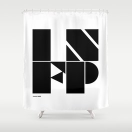 Type Type for INFP Shower Curtain
