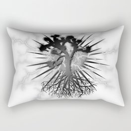 Joshua Tree Lightning by CREYES Rectangular Pillow