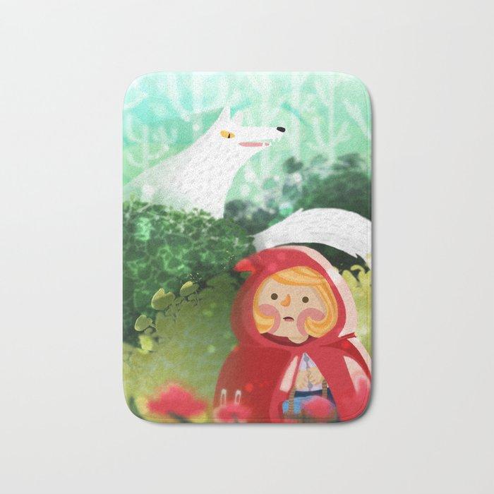 Hello Little Red Riding Hood Bath Mat