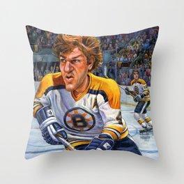Bobby Orr: Game Changer Throw Pillow
