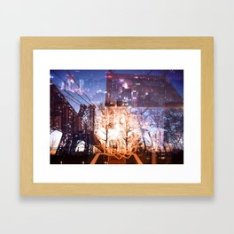 Big Apple Playground Framed Art Print