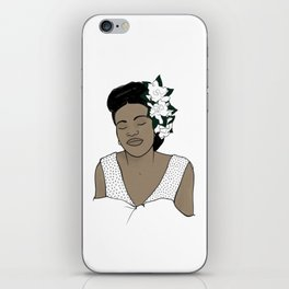 Billie Holiday / Lady Day iPhone Skin