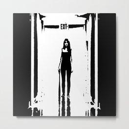 Exit Metal Print