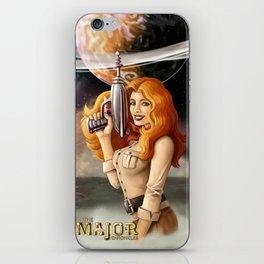 Major Chronicles Lady Silk iPhone Skin