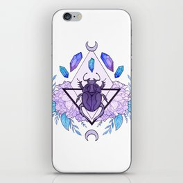 Scarab Queen iPhone Skin