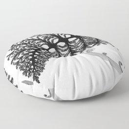 Black Hapu'u Floor Pillow
