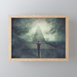wanderer Framed Mini Art Print