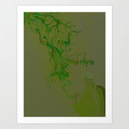 Mushi Art Print