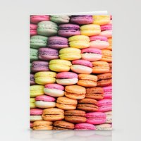 macaroons Stationery Cards featuring Macaroons by lescapricesdefilles