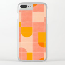Retro Tiles 03 #society6 #pattern Clear iPhone Case