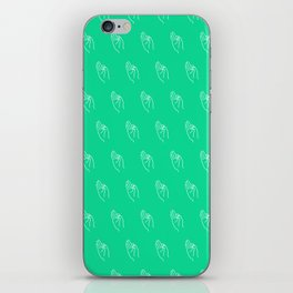 F ((emerald)) iPhone Skin