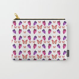Butterflies Convention Carry-All Pouch