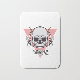 Skull 3 Bath Mat