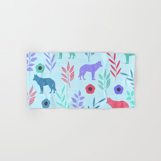Forest Animal and Nature Hand & Bath Towel