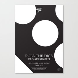 Roll The Dice Canvas Print